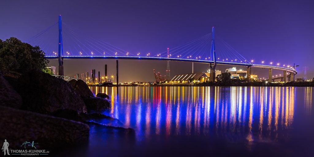 Köhlbrandbrücke zum Blueport