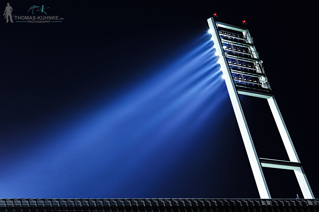 Flutlichtmast